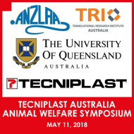 Tecniplast Australia Animal Welfare Symposium - May 11, 2018