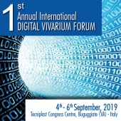 Tecniplast is proud to invite you to the first edition of the ANNUAL INTERNATIONAL DIGITAL VIVARIUM FORUM