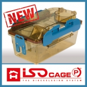 ISOcage Positive is a real isolator at cage level, specifically designed for the protection and welfare of gnotobiotics, germ-free and immunocompromised animals