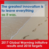 Tecniplast Environmental Strategy: a further step forward the leadership in LAS arena. 2017 Global Warming Initiative results and 2018 targets