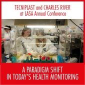 Tecniplast at the Laboratory Animal Science Association (LASA) Annual Conference together with Charles River- 28-30 November 2017 – Birmingham, UK