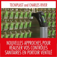 Tecniplast at the  Charles River Conference in Montpellier December 8th, 2017