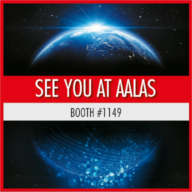 SEE YOU AT AALAS  - BOOTH #1149