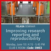 "DVC® System supports ""Better research through better reporting and reproducibility"" FELASA Workshop OWE3 - Monday, June 10th from 4.15 to 5.45 PM – ""Club E"""