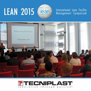 Tecniplast International Lean Symposium