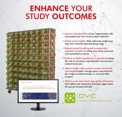 DVC® makes the Vivarium more Efficient