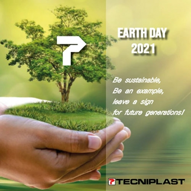 Earth Day 2021: be sustainable, be an example, be Tecniplast