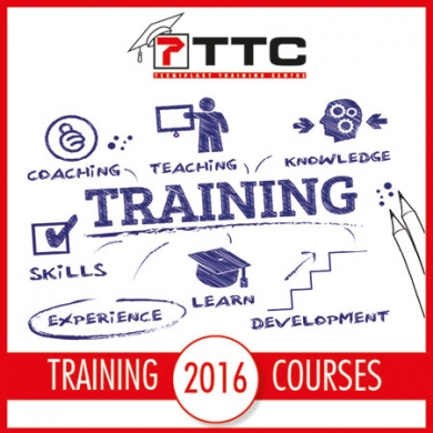TTC 2016 training program: WE MATCH YOUR NEEDS SHARING OUR KNOWLEDGE WITH YOU!