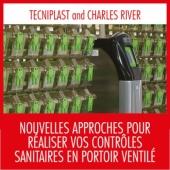 Tecniplast à la conférence Charles River à Montpellier le 8 décembre 2017