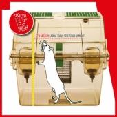 Les études de télémétrie chez le rat démontrent que l'utilisation de cages à deux étages permet aux rats hébergés de se tenir dans une posture totalement verticale, posture reconnue pour être partie intégrante et importante du bien-être d'un rat.