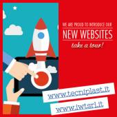 Nouveaux sites internet Tecniplast & IWT