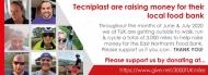 Tecniplast raises £759 for their local food bank