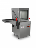 Say hello to IWT's entry level in-line pass-through bottle washer!