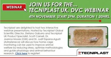 Join us for the Tecniplast UK DVC Webinar...
