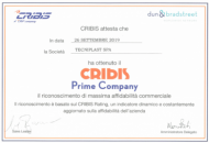 Tecniplast obtains the Cribis Prime Company Certificate, proving our Reliability