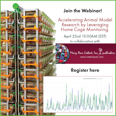 Webinar: Accelerating Animal Model Research by Leveraging Home Cage Monitoring
