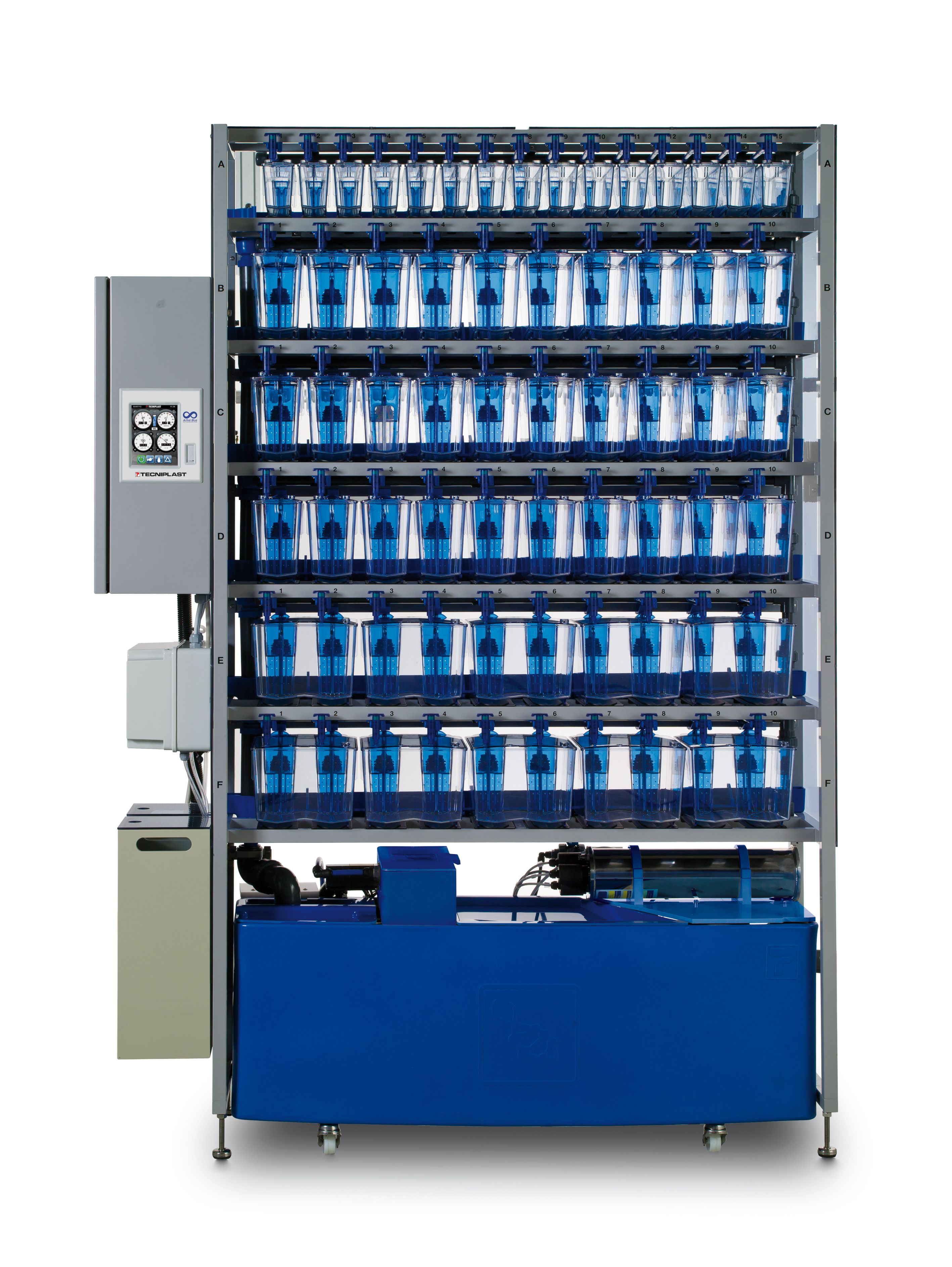 Zebtec Rack With Active Blue Technology