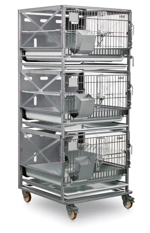 R Suite Rack For Rabbits Laboratory Animal Equipment