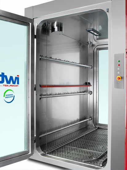 Atlantis - Cage and Rack washer   Washing systems for Life