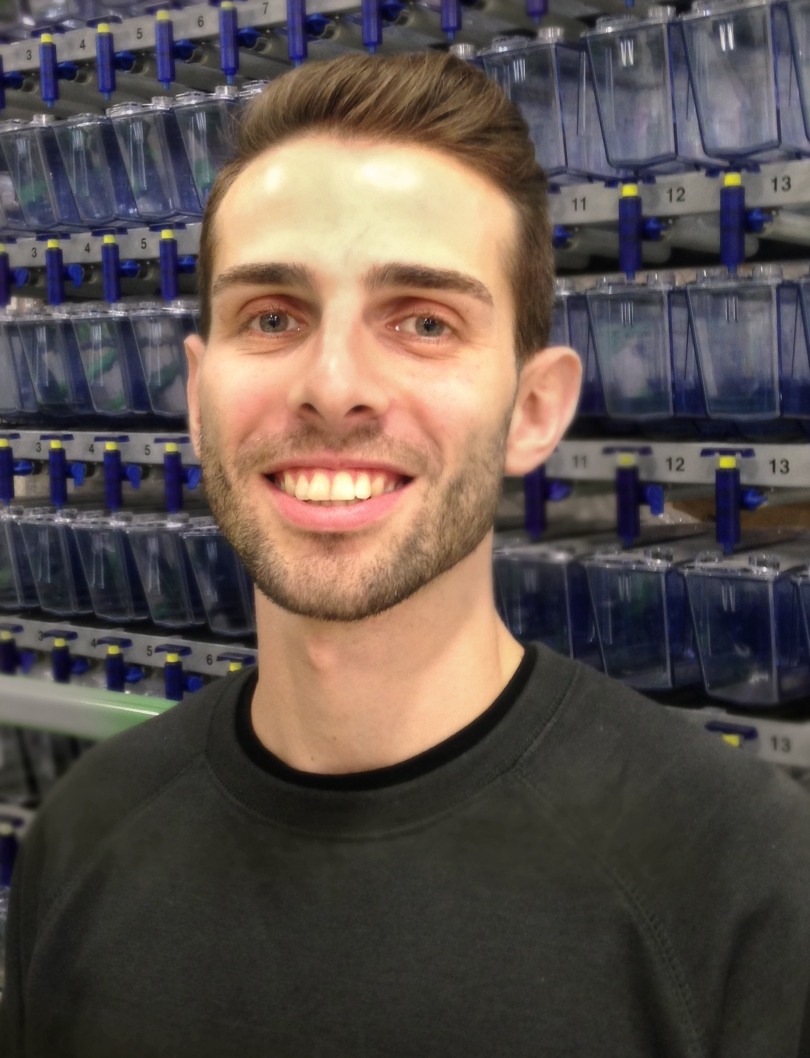 Aquatic Solutions After Sales Team Growing   Tecniplast USA Tecniplast    We are excited to have Luca join our Service and Customer Support team  As Zebrafish research continues to grow so do the demands for quality  performance